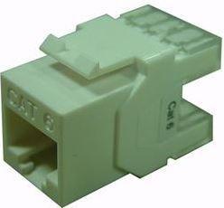 Conector Par de Cobre RJ45 UTP Cat 6 fêmea 90° | 180°