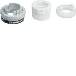 EK072 - Adaptadores electroválvulas HAGER EAN:3250615697165