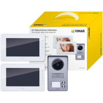 ELVOX Kit de videoporteiro bifamiliar - K40911