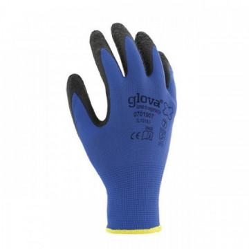 Equipamentos de Protecção - 5803 - Luva Nylon Revestimento Látex Preto 7