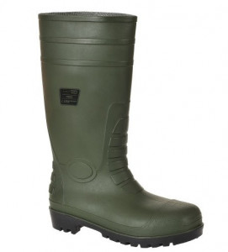 Equipamentos de Protecção - 5860 - Galocha pvc/ nitrilo verde s5 aço src 40
