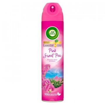Higiene Pessoal, Detergentes e Ambientadores - 4005 - Air Wick Desod. Spray 240ml Pink K.M.S