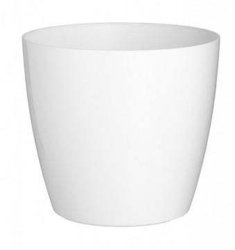 HORTA E JARDIM - 2301 - Vaso San Remo 30cm Branco Artevasi