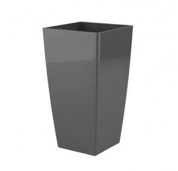 HORTA E JARDIM - 2335 - Vaso Pisa 40cm Antracite Artevasi
