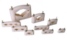 JSL Material Fixacao Abraçadeiras aperto mecânico (parafuso metálico) -