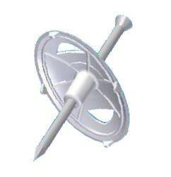 JSL Material Fixacao Fixa-cabos com prego para cabos planos -