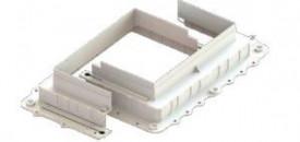 """JSL Postos de Trabalho """"Forma"""" para cimento para caixa de chão 4 e 8 mod's -"""