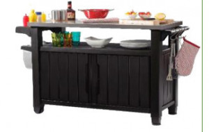 KETER 228891 BBQ whole steel top Unity