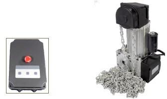 Kit Portas Seccionadas até 20m2 INDUS35 AUTOMAT EASY