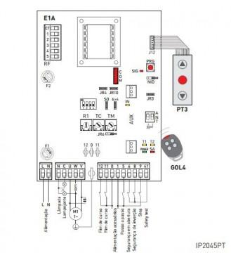Quadro Electrónico 670 R