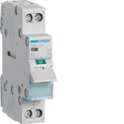 SBB225 - Interruptor Mod. c/Ind. luminoso 2P 25A HAGER EAN:3250615511737