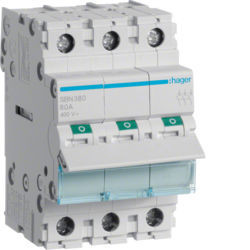 SBN380 - Interruptor Modular 3P 80A HAGER EAN:3250615510266