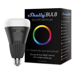 ShellyBulb - Lampada inteligente controlada via Wi-Fi (RBG + branco).