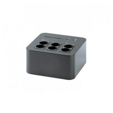 Socomec UPS Netys PL 600VA/360W - NPL-0600-D PRETA