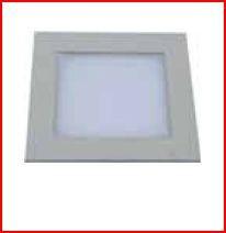SOFLIGHT SL70011AE-3W-84 - Downlight quadrado 3W 4200K Aço Escovado