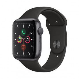 Watch Apple Watch Series 5 GPS 44mm Grey Aluminum Case with Sport Band - Black EU