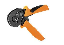 Weidmuller PZ 10 SQR - Alicate cravar ponteiras matrix quadrada de 0,14…10mm 1445080000