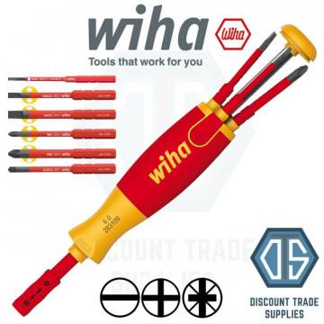 WIHA - 38611 CHAVE DE FENDAS COM CARREGADOR LIFTUP ELECTRIC 5523