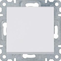 WL0060 - lumina 2 Interruptor bipolar, branco HAGER EAN:8694407000255