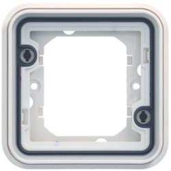 WNA401B - cubyko - Quadro x1, branco HAGER EAN:3250617175418