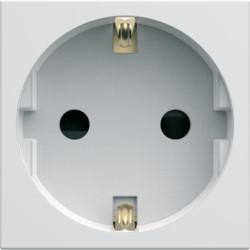 WXF160B - gallery 2M Tomada Schuko, branco HAGER EAN:3250617191609