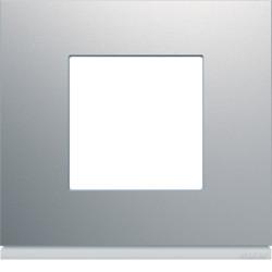 WXP0102 - gallery 2M Quadro x1, alumínio HAGER EAN:3250617199209