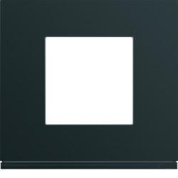 WXP0202 - gallery 2M Quadro x1, preto HAGER EAN:3250617199353