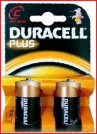 009000103 - 5000394019089 Pilha alcalina DURACEL Plus LR14 (C), Blister 2