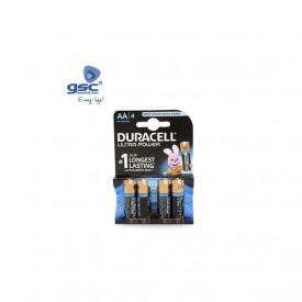 009000122 - 5000394002562 Pilha alcalina Duracell Ultra LR06 (AA) Blister 4