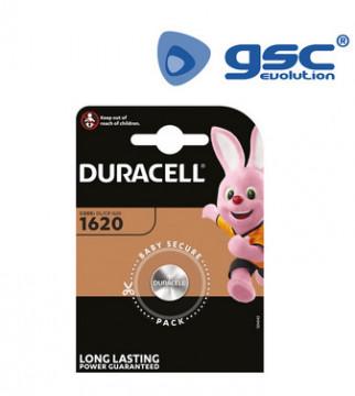 009000147 - Bateria de lítio Duracell DL1620 Blister 1 5000394030367