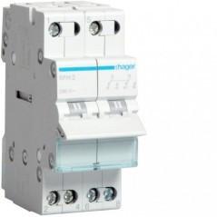 01 - SFH232 - 3250615510891 Inversor Modular s/ponto zero, 2P 32A HAGER