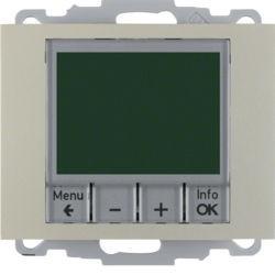 20447104 - K.1/K.5 - termóst. programável, inox lac BERKER EAN:4011334354741