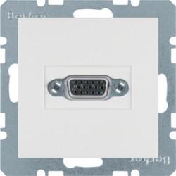3315418989 - S.1/B.x - tomada VGA paraf., branco BERKER EAN:4011334341772