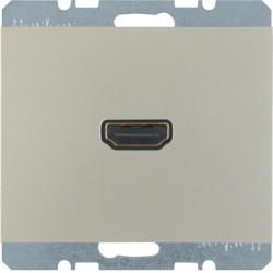 3315427004 - K.1/K.5 - tomada HDMI, inox lac BERKER EAN:4011334330578