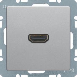 3315436084 - Q.x - tomada HDMI ficha 90º, alumínio BERKER EAN:4011334443797