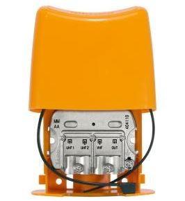 404110 -8424450179741 TELEVES - Misturador Mastro Blindado 3e/1s VHF-UHF-UHF (DC)