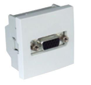 45430 SBR - TOMADA VGA - 2 MÓD BRANCA EFAPEL 5603011620028