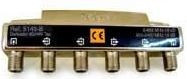 """514310 -8424450168370 TELEVES - Derivador Interior (5-2400MHz) 4D """"F"""" 19dB """"DC Pass All"""" Tipo B (piso 4, 5)"""