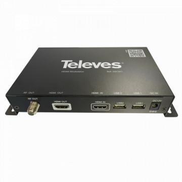 585301 - TELEVES - Encoder/Modulador Digital DVB-T/DVB-C