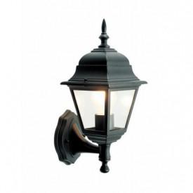 701904 - 8433373019041 Braço de alumínio da lâmpada do jardim para baixo E27 60W preto