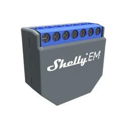 ShellyEM - Medidor de energia com dois canais e acesso a rede Wi-Fi.