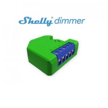 Módulo controlador dimmer inteligente Wifi para iluminação - Shelly Dimmer
