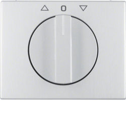 BERKER - 1077710300 - K.1/K.5 - botão rotativ. estor., alum 23
