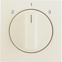 BERKER - 1084898200 - S.1/B.x - botão rotativo 2-1-3, creme 23