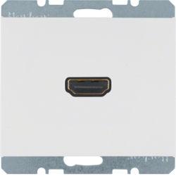 BERKER - 3315427009 - K.1/K.5 - tomada HDMI, branco 23