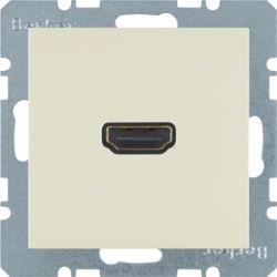BERKER - 3315438982 - S.1/B.x - tomada HDMI ficha 90º, creme 23