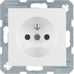 BERKER - 6765768989 - S.1/B.x - tomada FR obturad., branco 23
