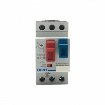 CHINT - DISJUNTOR MOTOR 3P 2,5-4A 2.5M 400/415VAC NS2254