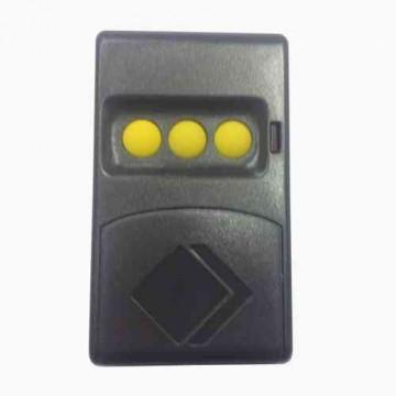 Comando para Portão CM3 3 botões c/ DIP switch AZUL ou AMARELO AUTOMAT EASY