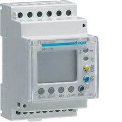 HR525 - Relé dif. 0,03-30A digital 3M HAGER EAN:3250613281342